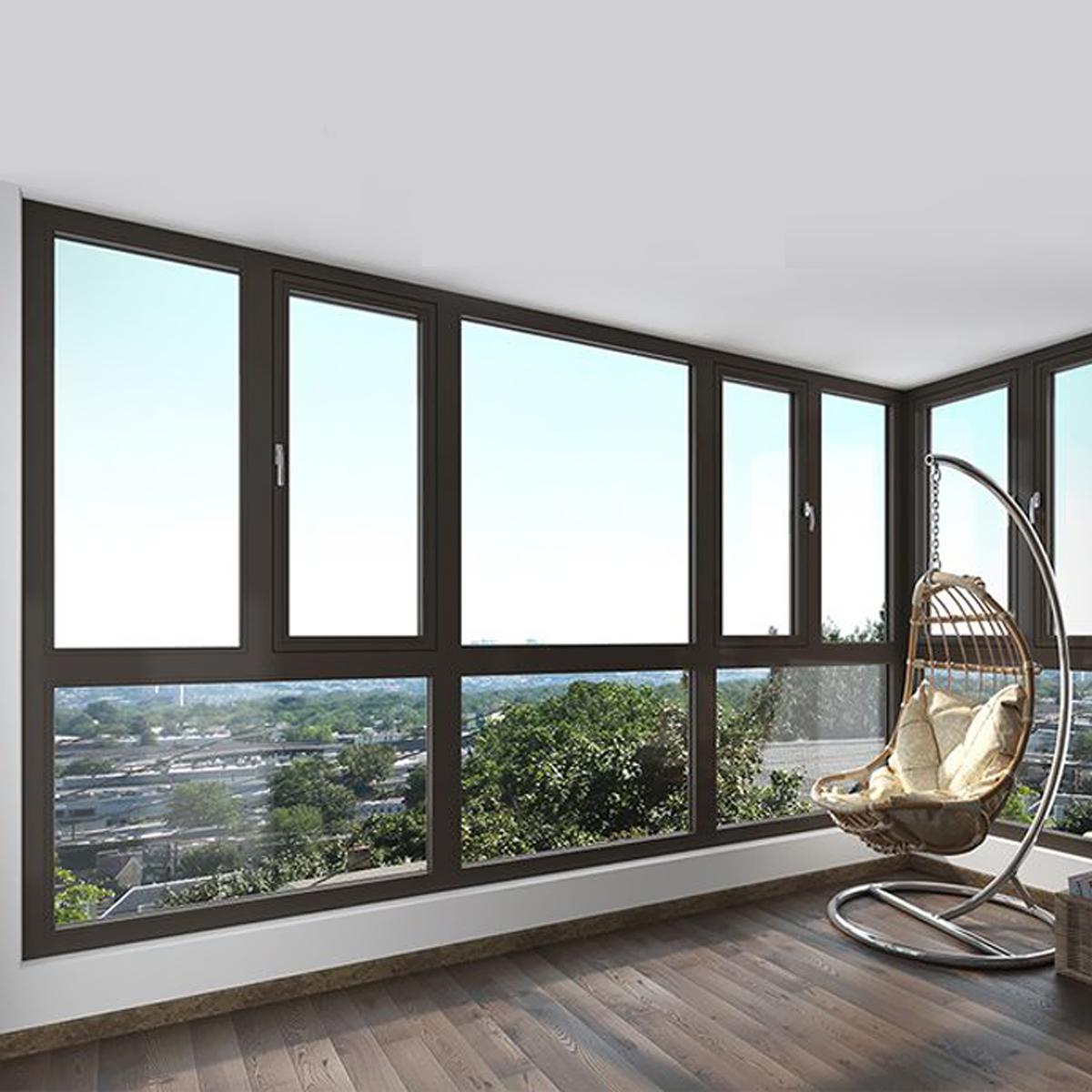 节能型铝合金系统窗(筑科)